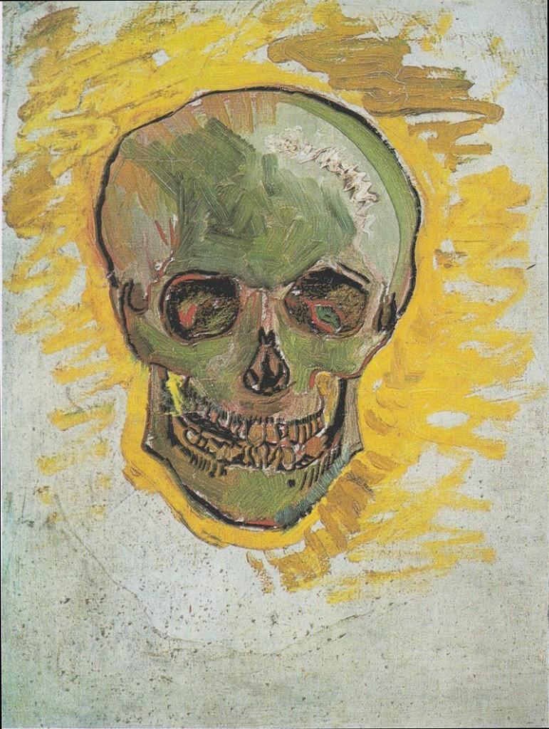 Van Gogh Skull