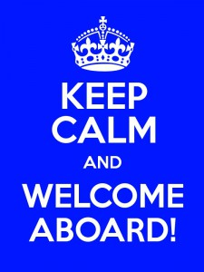 Welcome aboard!!!