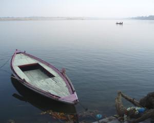 El Buda y la barca