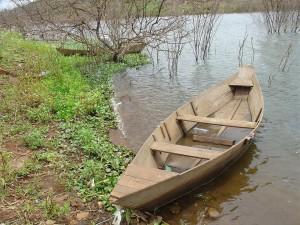 La barque vide